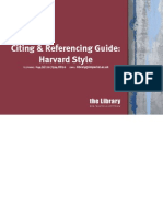 Citing & Reference Guide (Harvard Style)