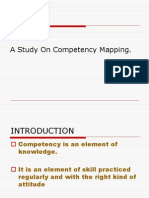 A Study on Competency Mapping
