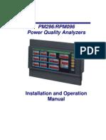 PM296 Manual