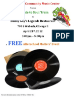 Buddy Guy Event Flyer