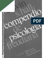 Calvin s Hall Compendio de Psicolog a Freudiana