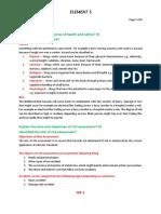 Nebosh IGC Element 5. Rish Assessment (Notes)