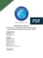 Bio Initiative Report
