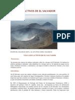 Volcanes Activos de El Salvador