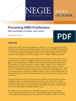 Preventing WMD Proliferation