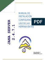 Manual Jana Server Oct 2006