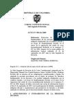 republica de colombia afectacion de los niños embera