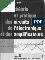 Théorie et pratique des circuits de l'électronique et  des amplificateur. Tome 3 (1963) [Dunod]