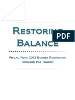 Restoring Balance Extended Brief