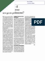 PME Faut-Il Travailler Avec de Gros Poissons