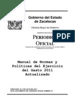 8683aa_manual de Normas y Politicas Del Gasto 2011