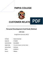 Personality Development Assignment Completed