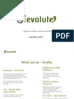 d:evolute Portfolio 2011