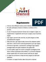 Torneo Just Dance_Regolamento