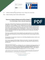 Greenberg Quinlan Rosner - Polling Memo - 4/18/2012 Poll