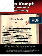 Mein Kampf Translation Controversy.