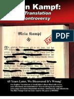 Mein Kampf Translation Controversy.
