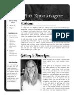 Newsletter 14 2012