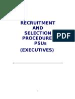 Recruitment Selec