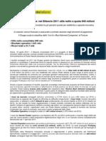 Bilancio 2011 Gruppo Poste Italiane
