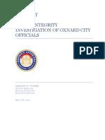 DA report on Oxnard public integrity investigation
