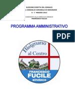 programma 2012 - bisignano al centro