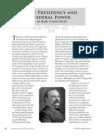 PCII - Federal Power (Scholar Essay)