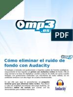 Audacity - Guía para eliminar ruido - Mp3.es