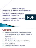 Financial Instruments - Session 2 Jan 7