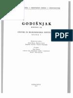 Godišnjak Centra za balkanološka ispitivanja Akademije nauka i umjetnosti BiH [knjiga 9, 1972.]