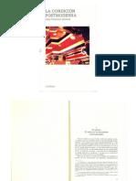 1. Lyotard, La Condición Posmoderna(1)