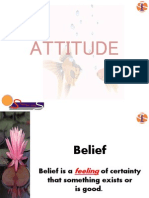 Attitudes Make Personal Ties (1)