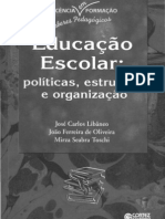 3.- EDUCAÇÃO ESCOLAR, Libâneo, Oliveira e Toschi - 43 Imp.