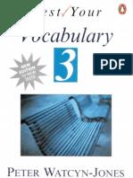 Test Your Vocabulary 3 Intermediate