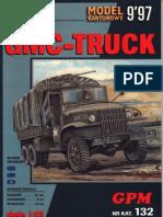 [GPM 132] - GMC Duece-N-A-half Truck