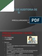 Estandar de Auditoria de Si
