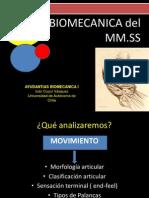 Biomecanica Miembro Superior