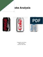 Coke Analysis Cover