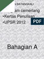 Bahan Penulisan DUN 2012