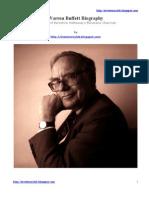 Warren Buffett Biography PDF