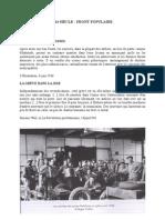 Le front populaire textes et documents