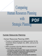 HRM360-2011-Summer-Chapter 03-Comparing HRP With Strategic Plan