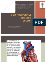 .....Alcala Matus - Cor Pulmonale Crónico
