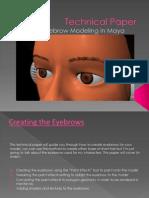 Eyebrow Technical Paper Presentation