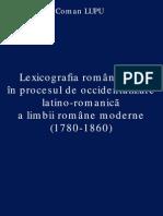 Coman Lupu - Lexicografia Romaneasca