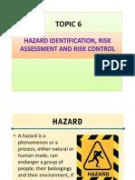 Topic 6 Hazard