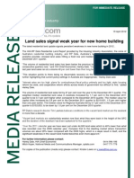 Land Report Media Release Dec 11 Qtr