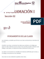 Prog1-i02_clases Objetos y Metodos