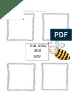 Eric Carle Bee Graphic Organizer