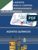 USO DE LOS AGENTES QUÍMICOS PARA EL CONTROL
